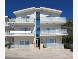 Apartmanok Lekovic Lux Sutomore, Méret 40,00 m2, Szállás medencével, Légvonalbeli távolság 250 m