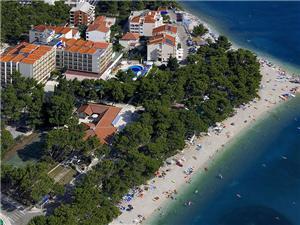 отель Horizont , размещение с бассейном, Воздуха удалённость от моря 50 m, Воздух расстояние до центра города 200 m