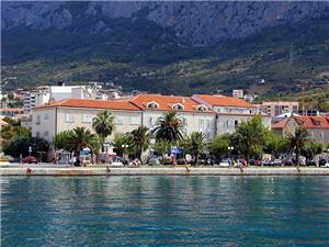 Hotel Biokovo Makarska riviéra, Légvonalbeli távolság 150 m, Központtól való távolság 5 m