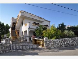 Апартамент Ana Vrbnik - ostrov Krk, квадратура 27,00 m2, Воздух расстояние до центра города 500 m