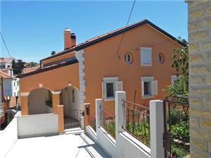 Apartmanok Leila Mali Losinj - Losinj sziget, Méret 25,00 m2, Központtól való távolság 200 m
