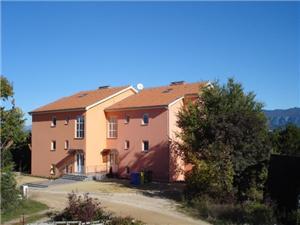 Appartementen Dudovic Damir Silo - eiland Krk, Kwadratuur 70,00 m2, Lucht afstand naar het centrum 700 m