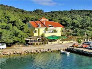 Beachfront accommodation North Dalmatian islands,Book Zvonimir From 57 €