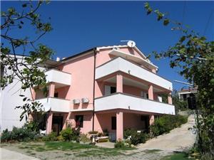 Apartmány Murgic Krk - ostrov Krk, Prostor 20,00 m2, Vzdušní vzdálenost od centra místa 500 m