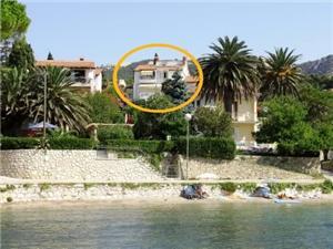 Apartmány a Izby Kunkera , Rozloha 16,00 m2, Vzdušná vzdialenosť od mora 50 m