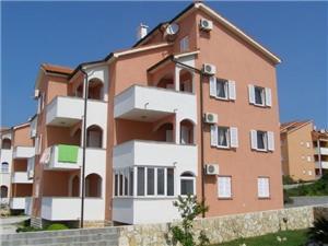 Appartamenti Daniel Novalja - isola di Pag, Dimensioni 43,00 m2, Distanza aerea dal mare 200 m, Distanza aerea dal centro città 800 m