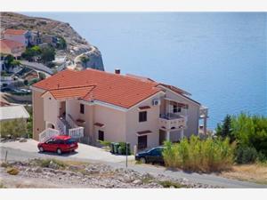 Appartementen Nedjeljko Zubovici, Kwadratuur 34,00 m2, Lucht afstand tot de zee 200 m, Lucht afstand naar het centrum 300 m