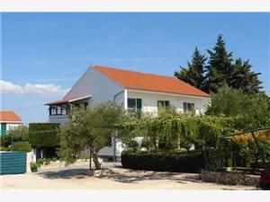 Apartamenty Dalibor Murter - wyspa Murter, Powierzchnia 35,00 m2, Odległość do morze mierzona drogą powietrzną wynosi 250 m, Odległość od centrum miasta, przez powietrze jest mierzona 600 m