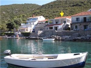 Appartements Marija Gdinj - île de Hvar, Superficie 30,00 m2, Distance (vol d'oiseau) jusque la mer 20 m