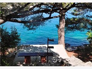 Huis Marija Sumartin - eiland Brac, Kwadratuur 60,00 m2, Lucht afstand tot de zee 10 m
