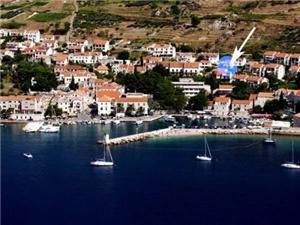 Apartament Zoran Bol - wyspa Brac, Powierzchnia 55,00 m2, Odległość do morze mierzona drogą powietrzną wynosi 200 m, Odległość od centrum miasta, przez powietrze jest mierzona 150 m