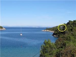 Дом Ilić Vis - ostrov Vis, Дома в уединенных местах, квадратура 60,00 m2, Воздуха удалённость от моря 20 m