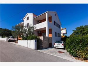 Apartmány Anka Slatine (Ciovo), Prostor 36,00 m2, Vzdušní vzdálenost od moře 180 m