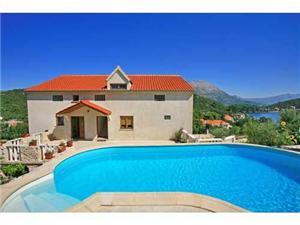 Apartmani Ljiljana Korčula - otok Korčula, Kvadratura 28,00 m2, Smještaj s bazenom