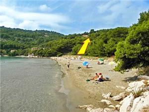 Ferienwohnungen Pavla , Größe 70,00 m2, Luftlinie bis zum Meer 200 m, Entfernung vom Ortszentrum (Luftlinie) 100 m