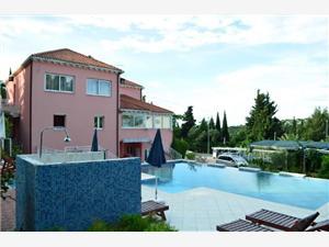 Apartmány Mato Mlini (Dubrovnik), Prostor 25,00 m2, Soukromé ubytování s bazénem, Vzdušní vzdálenost od moře 250 m