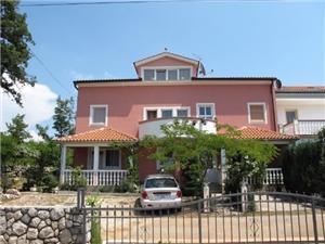 Apartmani Jozefina Malinska - otok Krk, Kvadratura 46,00 m2