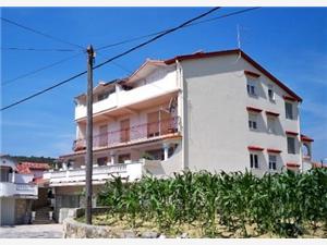Apartmaji Bosiljka Kampor - otok Rab, Kvadratura 56,00 m2