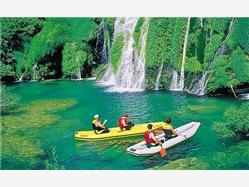 Krajina vodopádov – Plitvické jazerá Grabovac (Rakovica)