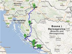 De Zagreb a Split  - Centres historiques et parcs nationaux (non accompagné)