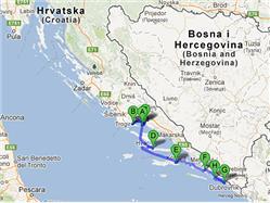 De Split a Dubrovnik Merveilles de la Dalmatie centrale et du sud (non accompagné) Split