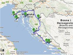 De L'Istriea Split – Visites et nature (non accompagné)