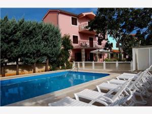 Apartmány Anita Krnica (Pula), Prostor 50,00 m2, Soukromé ubytování s bazénem, Vzdušní vzdálenost od centra místa 300 m