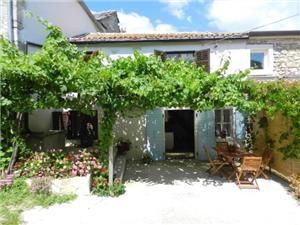 Casa Elena Pisino (Pazin), Casa di pietra, Dimensioni 80,00 m2