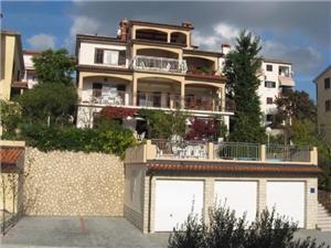 Appartementen Silvano Rabac, Kwadratuur 50,00 m2, Lucht afstand naar het centrum 700 m