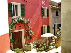 Ferienwohnungen und Zimmer Saša Vrsar, Größe 10,00 m2, Luftlinie bis zum Meer 200 m, Entfernung vom Ortszentrum (Luftlinie) 30 m