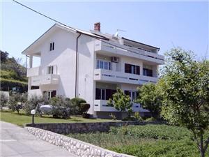 Apartmaji Susana Supetarska Draga - otok Rab, Kvadratura 110,00 m2, Oddaljenost od morja 200 m