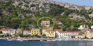 Apartman - Baska - otok Krk