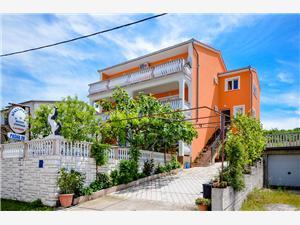 Apartman Jurica Senj, Méret 90,00 m2, Központtól való távolság 800 m