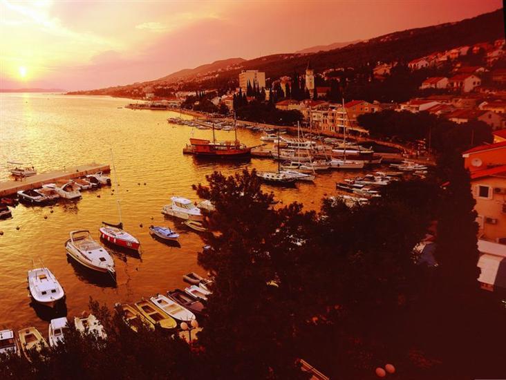 De Crikvenica Riviera en Rijeka