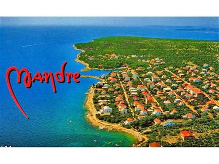 Mandre - ostrov Pag
