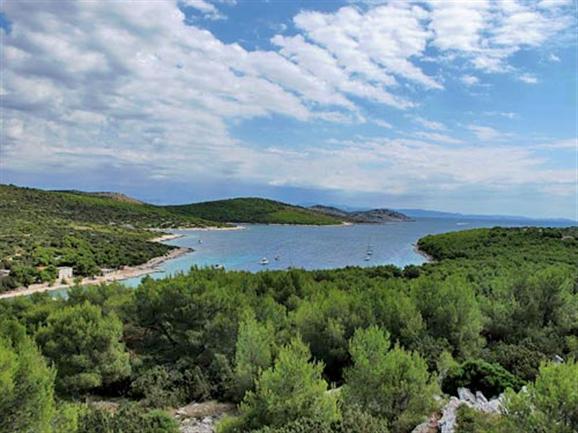 Zirje - island Zirje