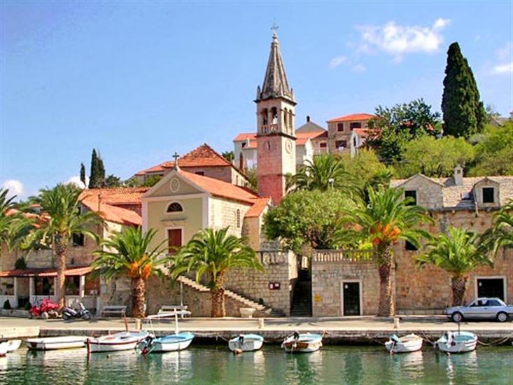Splitska - Brac sziget