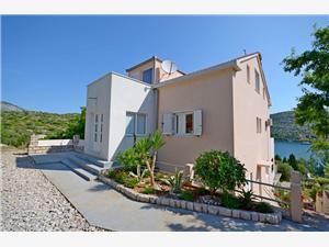 Апартаменты Vesna Skrivena Luka, квадратура 38,00 m2, Воздуха удалённость от моря 20 m