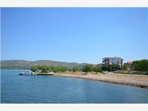 Beachfront accommodation Sibenik Riviera,Book Zlatko From 50 €