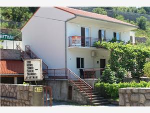 Appartementen Anka Senj, Kwadratuur 34,00 m2, Lucht afstand naar het centrum 600 m