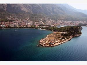 Boende vid strandkanten Makarskas Riviera,Boka Sv.Petar Från 1474 SEK