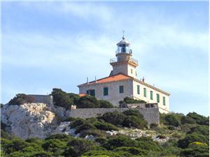 Beachfront accommodation South Dalmatian islands,Book Sušac From 82 €