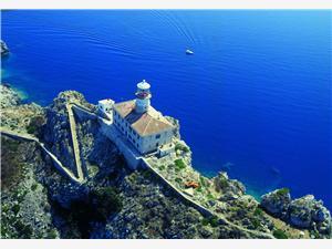 Kuća na osami Južnodalmatinski otoci,Rezerviraj Palagruža Od 542 kn