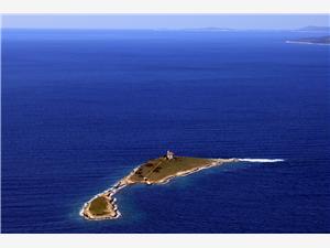 Remote cottage North Dalmatian islands,Book Pločica From 89 €