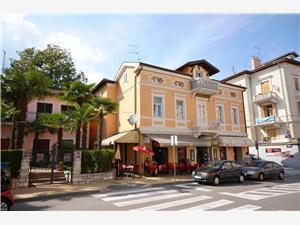 Apartmán Gordana Opatija, Rozloha 55,00 m2, Vzdušná vzdialenosť od mora 200 m, Vzdušná vzdialenosť od centra miesta 5 m