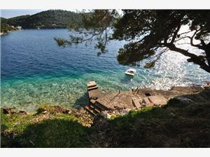 Beachfront accommodation South Dalmatian islands,Book Graciela From 73 €