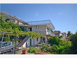 Apartament Ljilja Kuciste, Powierzchnia 70,00 m2, Odległość do morze mierzona drogą powietrzną wynosi 50 m, Odległość od centrum miasta, przez powietrze jest mierzona 50 m