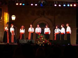Serate delle ballate dalmate a Šibenik  Fiera del paese