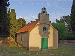 Församlingskyrkan St Cross Dolac (Primosten) St Peterskyrkan