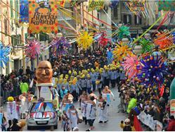 Rijeka Carnival Rijeka Oslavy miestneho spoločenstva/ Festival